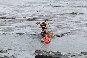 coastguard called to mud rescue