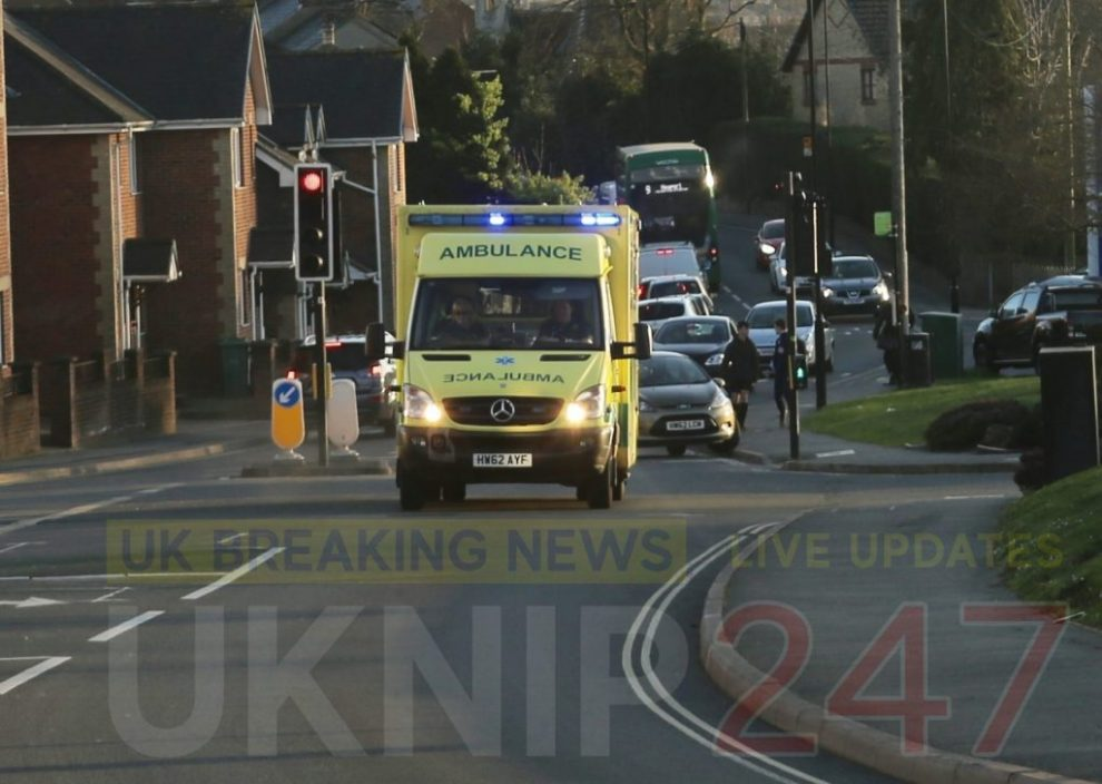 emergency services called after cyclist is hit in east cowes