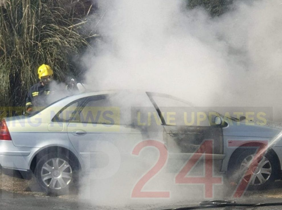 Fire crew called to car fire in Lake, UKNIP