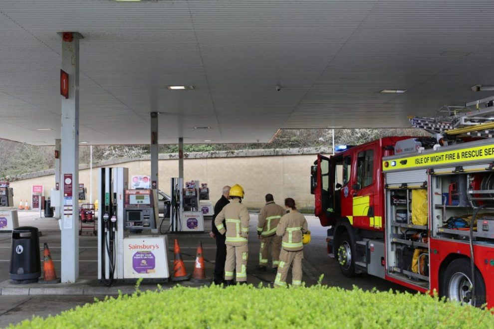Fire Crew Called To Sainsbury's In Newport