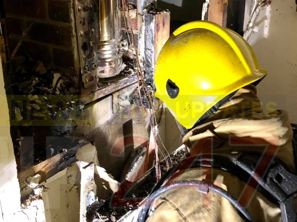 Fire crews called to Chimney blaze in Brighstone, UKNIP