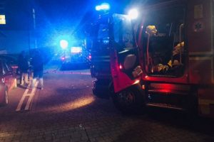 fire crews called to flat fire in farnham