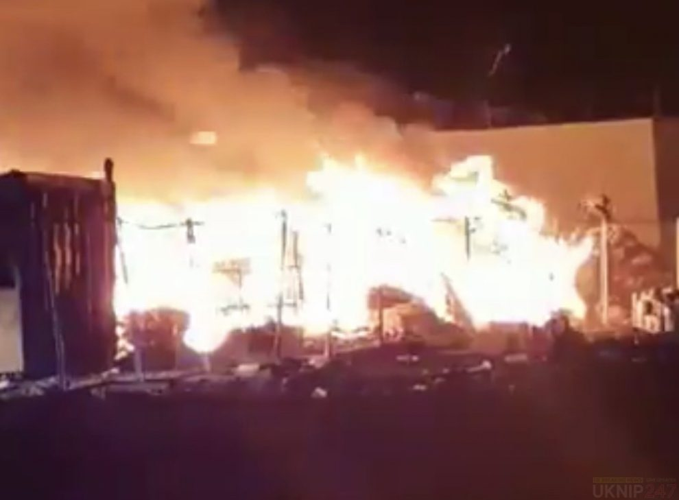 firefighters called to large blaze in rainham
