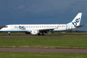 flybe flight makes emergency landing after declaring an emergency onboard