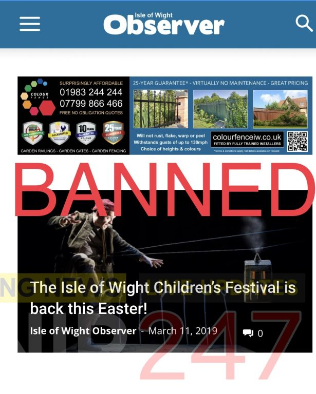 island co ops ban local paper after racist rant