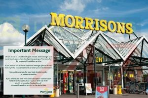 isle of wight morrisons customers targeted in text scam