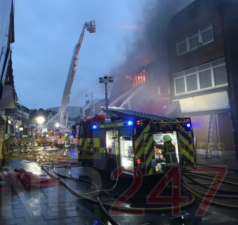 Maidenhead Town Centre On Lockdown As 12 Fire Crews Tackle Blaze