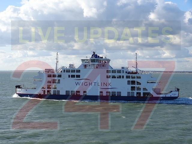 Major Engine failure on Wightlink St Clare, UKNIP