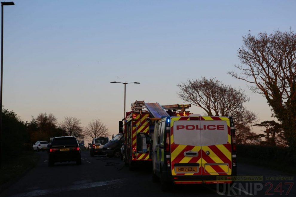 motorcyclist involved in whippenham collision
