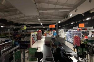 newport store hit by power cut