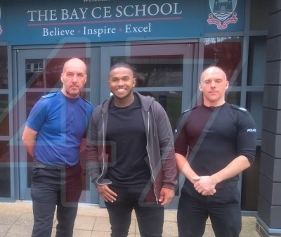 pride of britain share knife crime worries to island schools