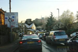 staplers road one way system gridlocked