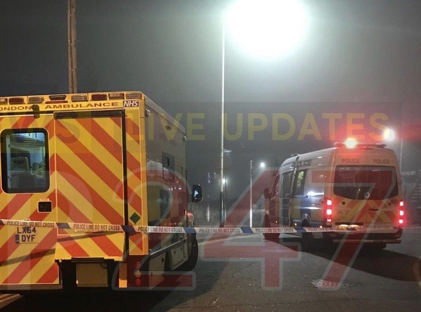 two stabbed and third man injured in west london