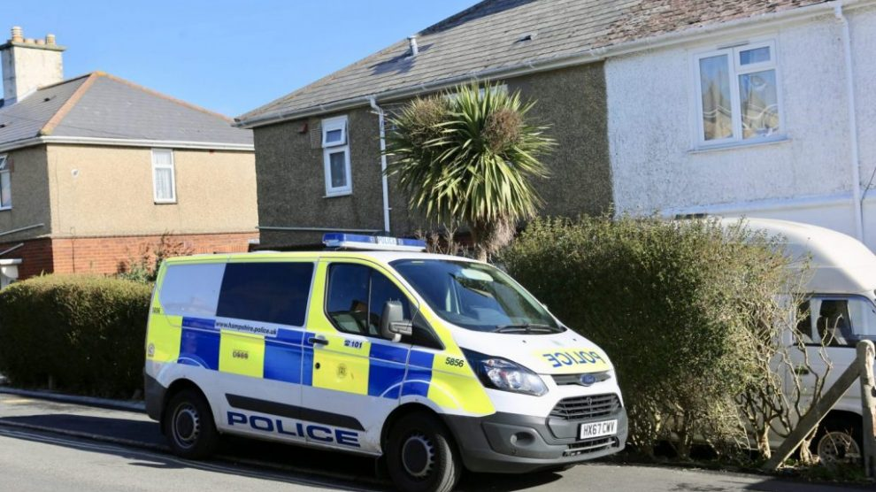 updated early morning police raid carried out at newport property