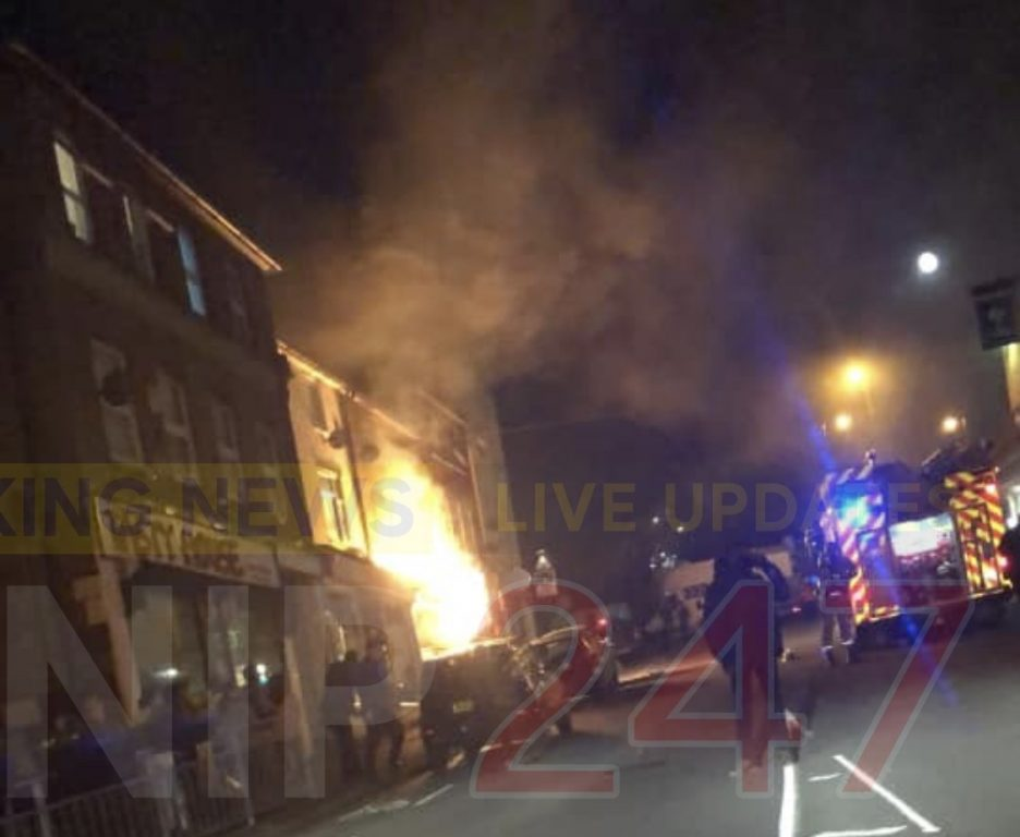 Updated:fire Crews Called To Explosion In Farnham