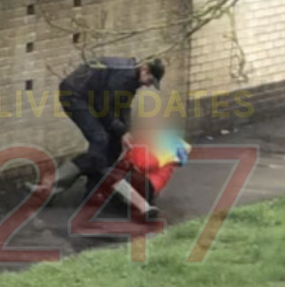 vile street robber attacked blind pensioner in southampton
