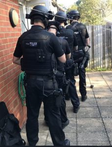 Wanted Burglar Arrested In Totton By Armed Police