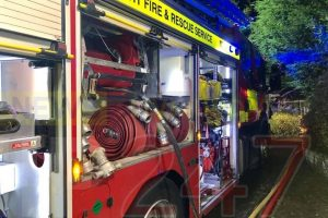 working smoke alarm saves newchurch property