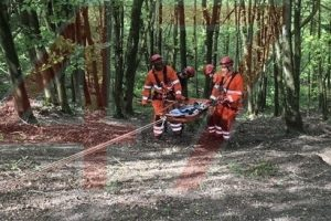 80 year old pensioner rescue after 50 metre fall near devizes
