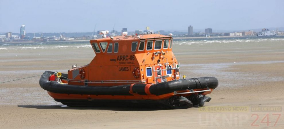 coastguard called to vessel ran aground after being caught in storm hannah