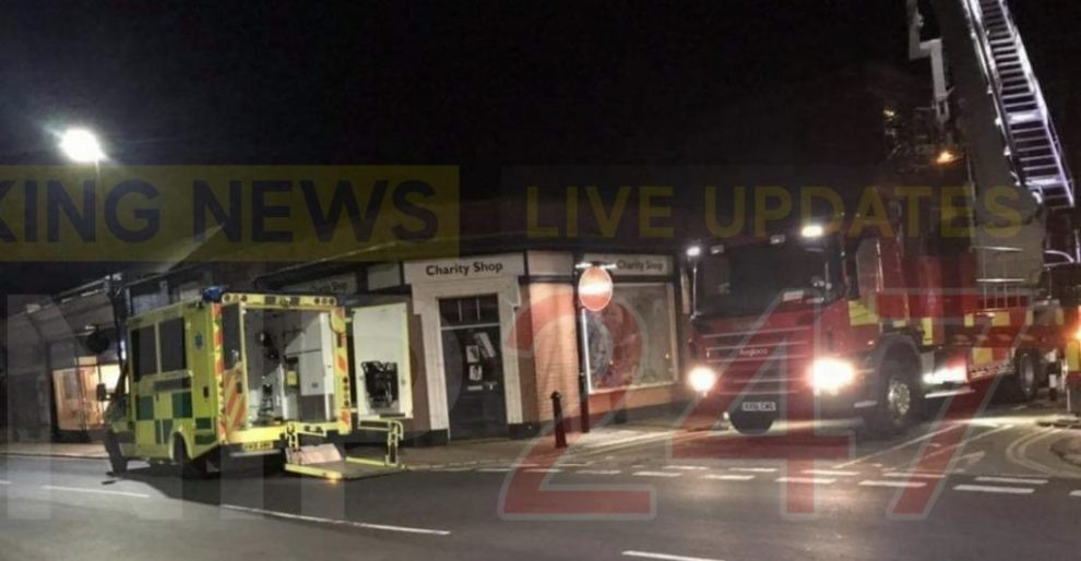 emergency services called to lugley street