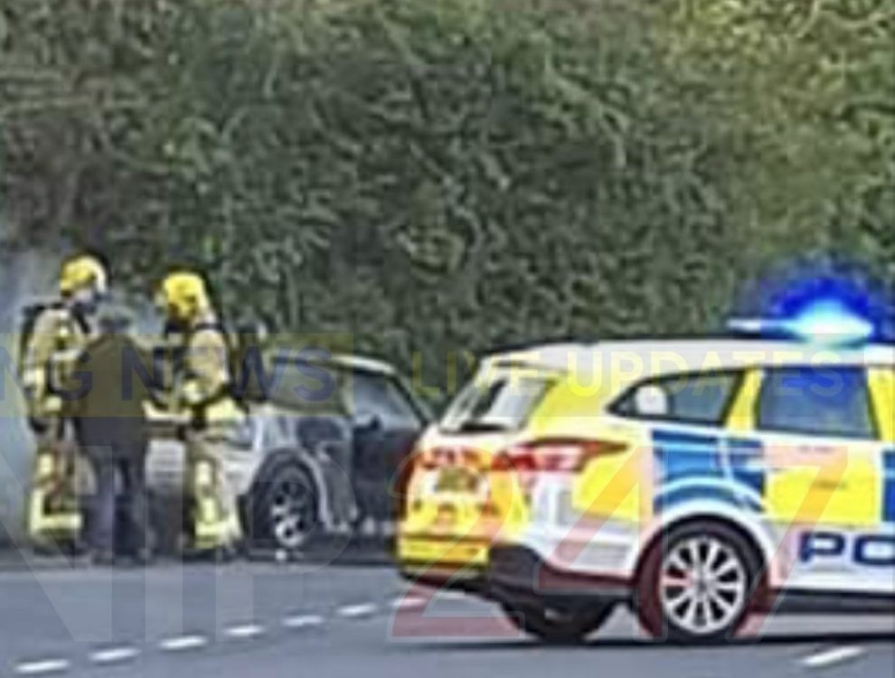 fire crew called to cowes car fire