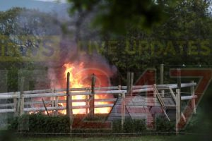 flames spotted in godshill