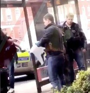 four arrested after waving gun around mcdonalds in broad daylight