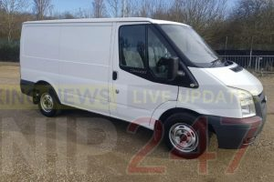 have you seen stolen transit van