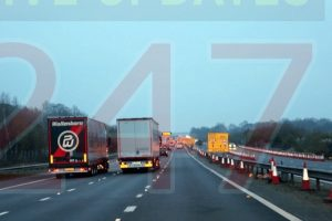 m20 contraflow to be removed