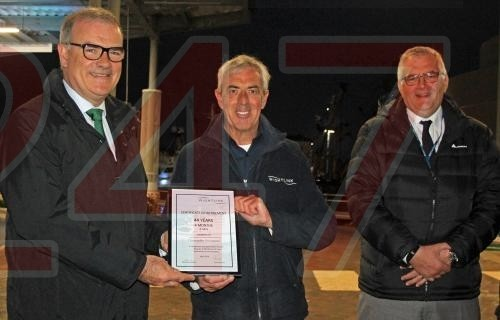 Retirement For Night Crawler Chris After 44 Years At Sea