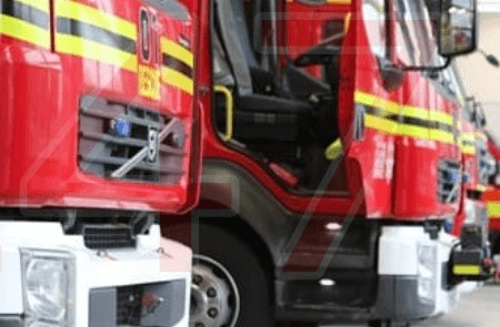 Three Vehicles Destroyed By Fire