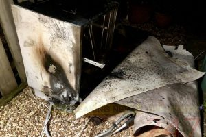 totland family escape injury after dishwater blaze