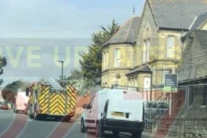 updated sandown flats sealed off after suspected hazardous find