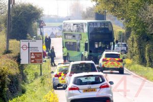 woman dead after fatal bus crash on the isle of wight 25 are injured