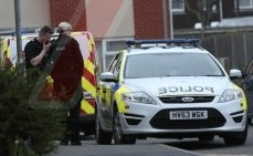 army of police and vans in drugs shakedown in ryde