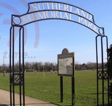 assault and robbery in sutherland memorial park in burpham guildford