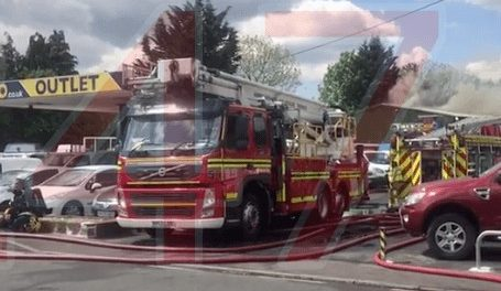 Blaze Rips Through Vehicles And Workshop In Cadnam