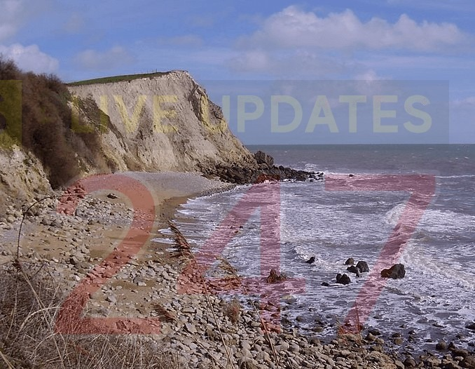 Coastguard Team Called To Suspected Ordnance At Woody Bay On The Isle Of Wight