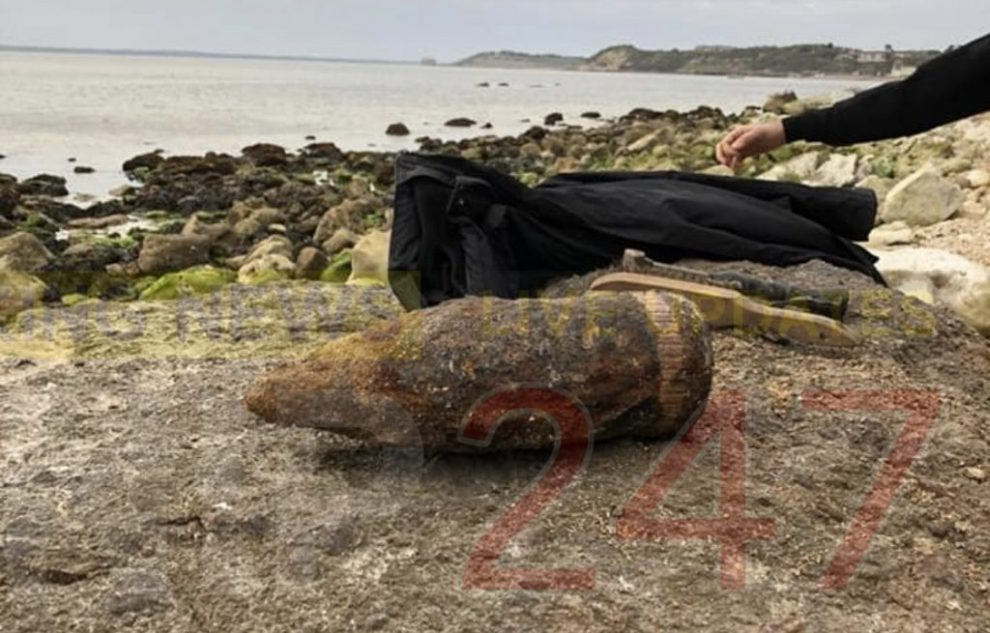eod blow up live ordnance in west wight