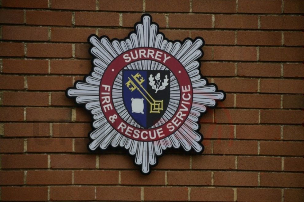 fire crews called to house ablaze in staines