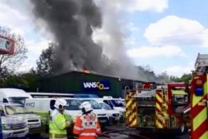 hampshire police probe targeted arson attack following cadnam garage blaze