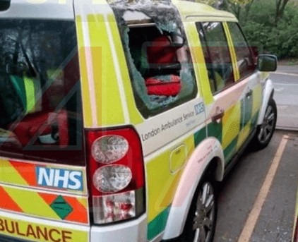 lifesaving equipment stolen from a london ambulance in canning town