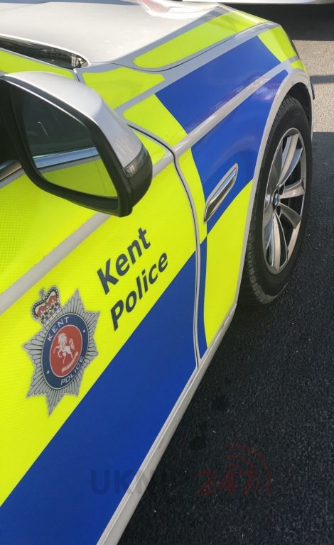 man arrested after serious collision in northfleet