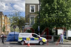 man arrested on suspicion of murder in islington
