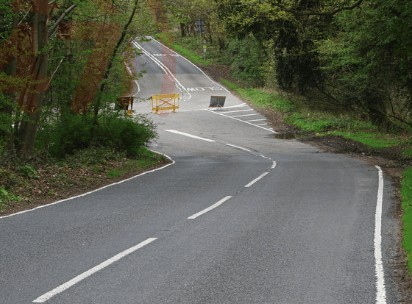 man dies at scene following collision with car and kawasaki motorbike in ash vale