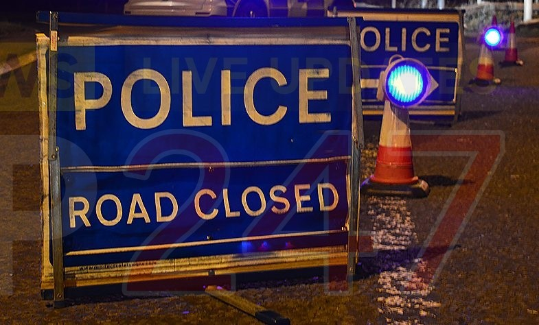 Motorbike And Car Collision Closes  The M27 In Hampshire