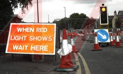 prepare for two weeks of nightmares on staplers road the traffic lights are back