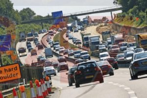 serious collision on the m25 near chorley wood causes gridlock