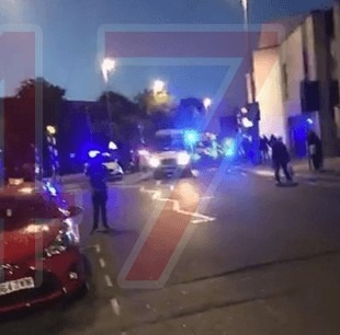three men have been shot on high road in leyton